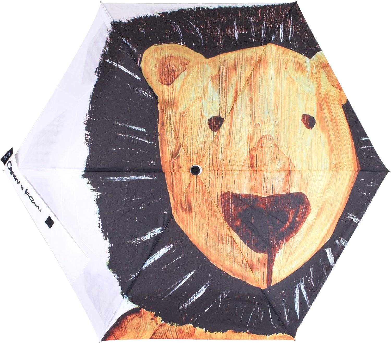 CARRY Folding Umbrella,Lightweight Waterproof Windproof Durable And Will Not Break Umbrella Lion