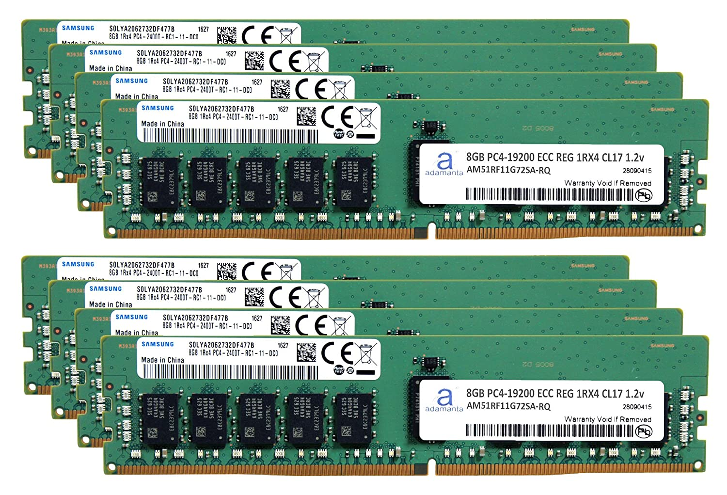 Samsung Original 64 gb ( 8 x 8...