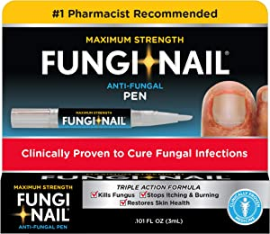 Fungi-Nail Pen Applicator Anti-Fungal Solution, 0.10 Ounce - Kills Fungus That Can Lead To Nail Fungus & Athlete's FootUndecylenic Acid & Clinically Proven to Cure Fungal Infections