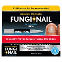 Fungi-Nail Pen Applicator Anti-Fungal Solution, 0.10 Ounce - Kills Fungus That Can Lead To Nail Fungus & Athlete's Foot Undecylenic Acid & Clinically Proven to Cure Fungal Infections