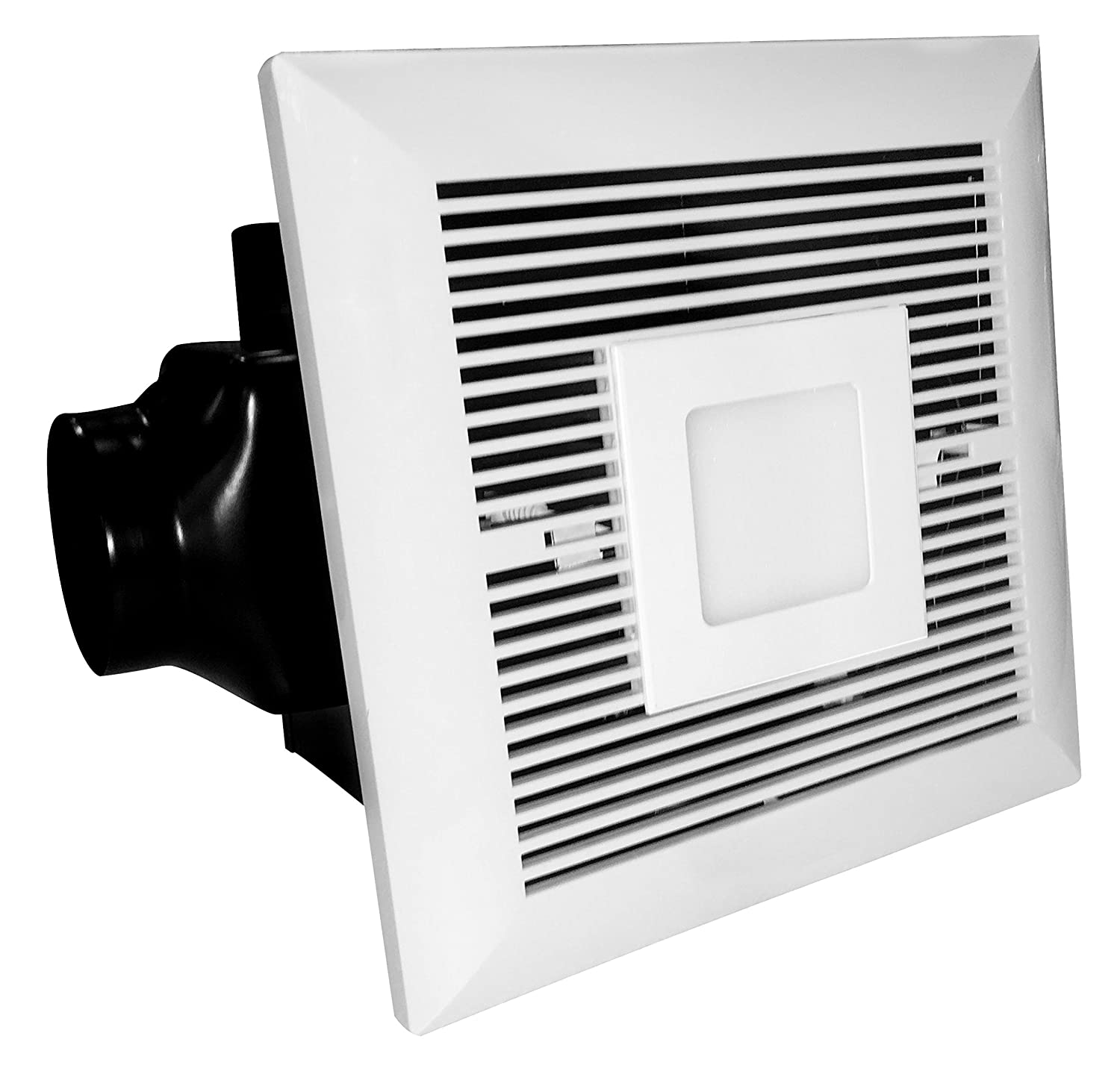 Groovy Tatsumaki Ld 120 Electric Bathroom Fan 120 Cfm Ultra Quiet Exhaust Ventilation Fan With 6W Led Light For Improved Airflow Air Circulation Download Free Architecture Designs Scobabritishbridgeorg