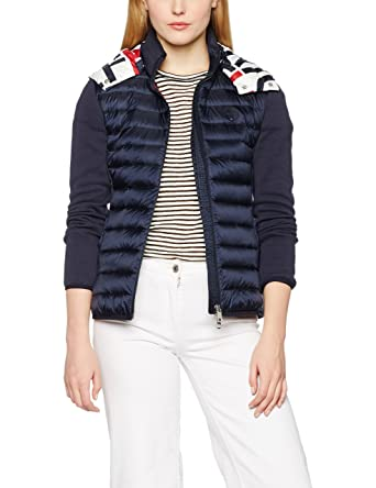 Tommy Hilfiger Icon Combo LW Down JKT, Chaqueta para Mujer ...