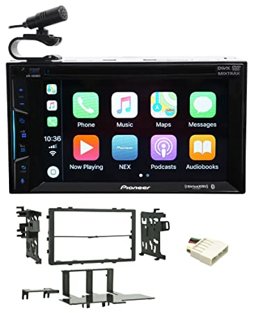 Amazon Com Pioneer Bluetooth Dvd Receiver Iphone Android Carplay