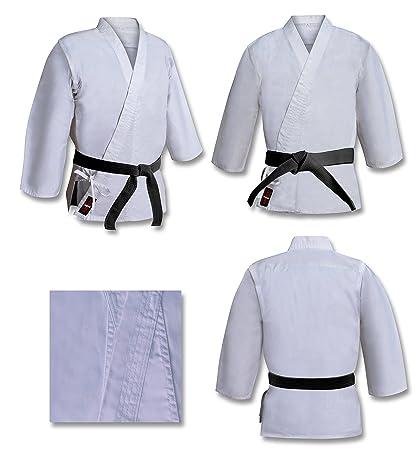 Vader Sports Traje De Karate O Aikido Gi Blanco Lona Gruesa ...