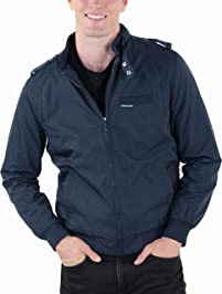 Members Only Men's Iconic Racer Jacket with Quilted Lining