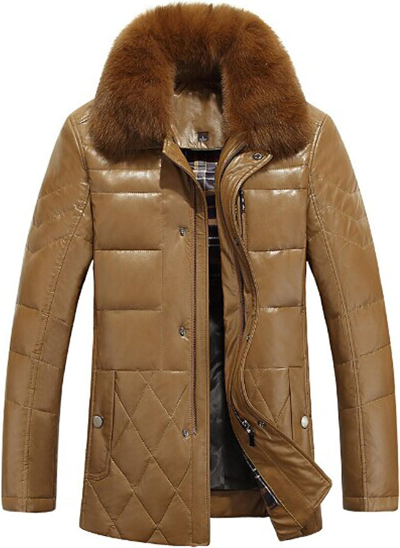 Hooded Fox Fur Parka With Detachable Raccoon Fur Trim