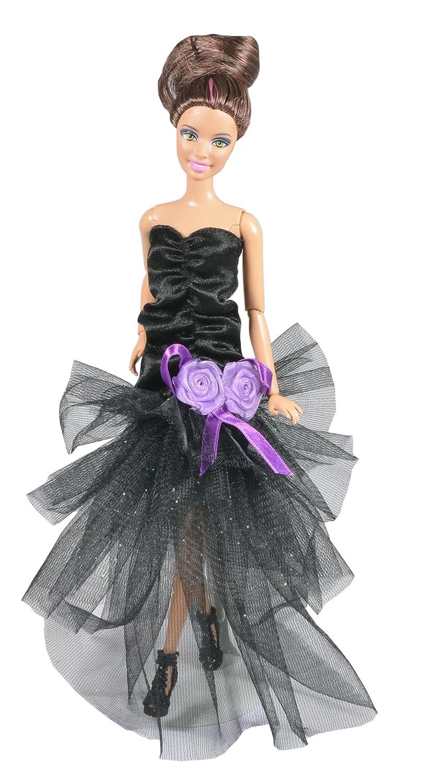 Amazon.es: ADM 1020 - Moda de las famosas: Hollywood (Set de 3 vestidos con zapatos y bolsos, sin muñecas): Juguetes y juegos
