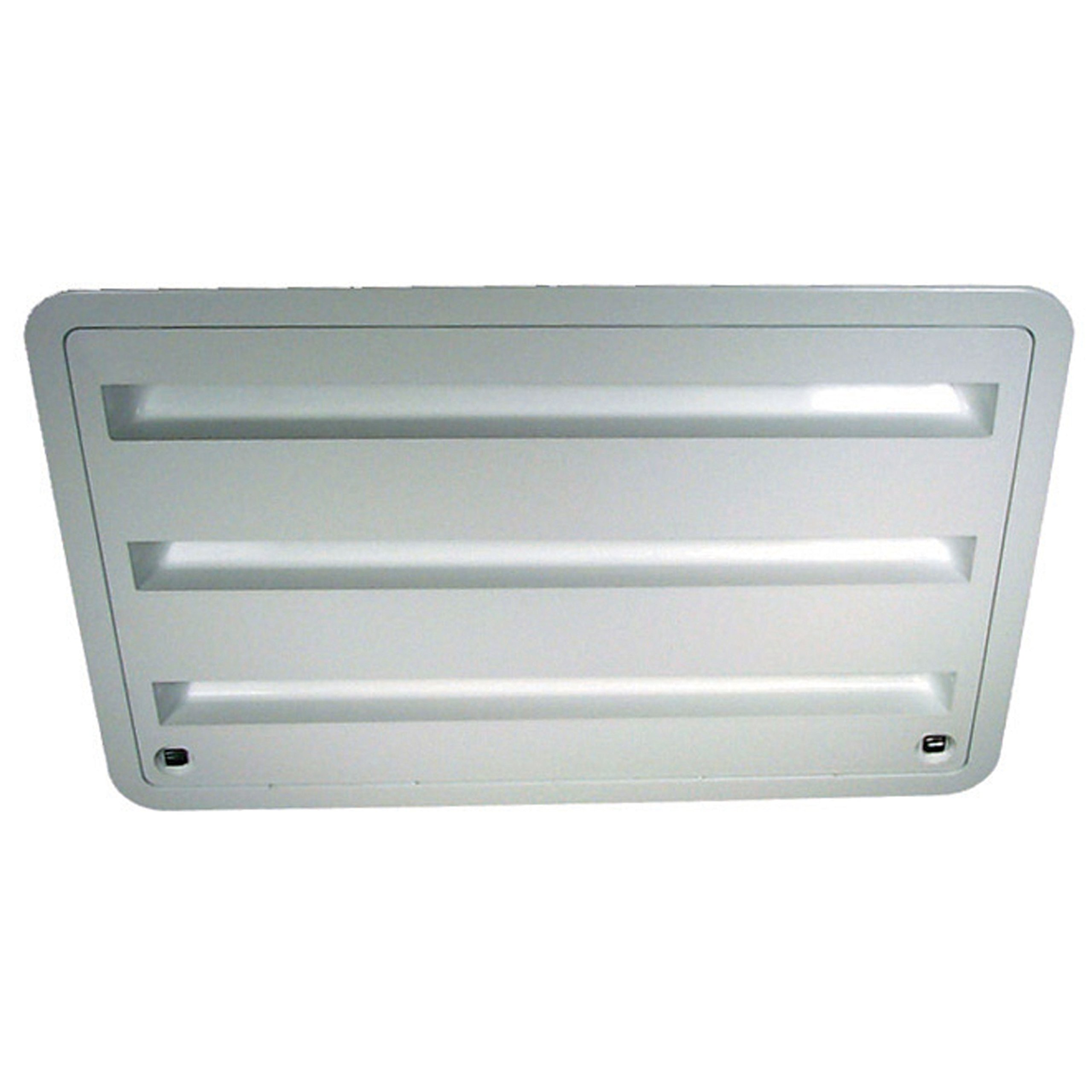 Dometic 3109350.011 Refrigerator Vent - Lower Sidewall Vent, Polar White by Dometic
