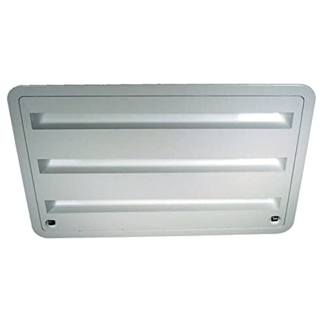 Dometic 3109350 011 Refrigerator Vent - Lower Sidewall Vent, Polar White