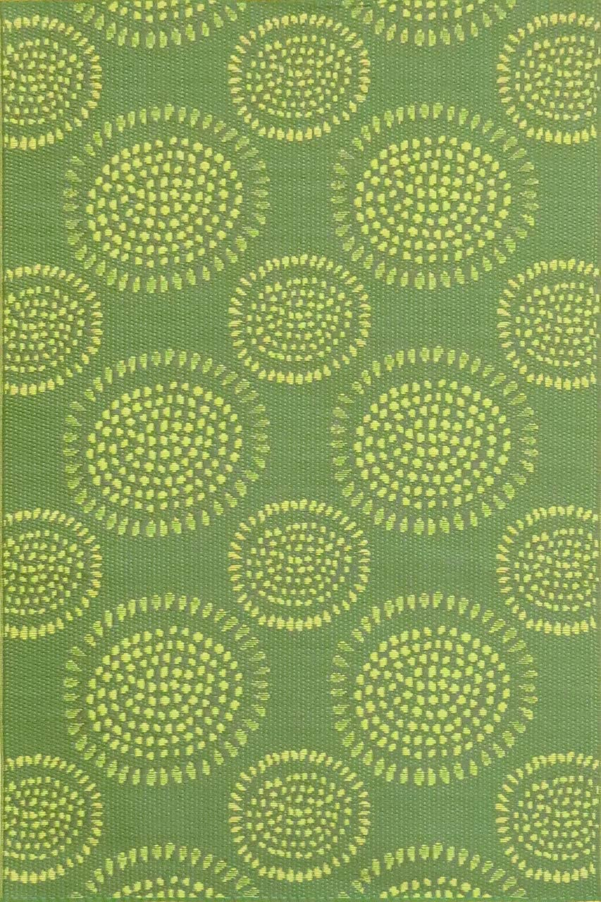 Mad Mats FM-MOL69-GR1 Outdoor Rug, 6 x 9 , Green