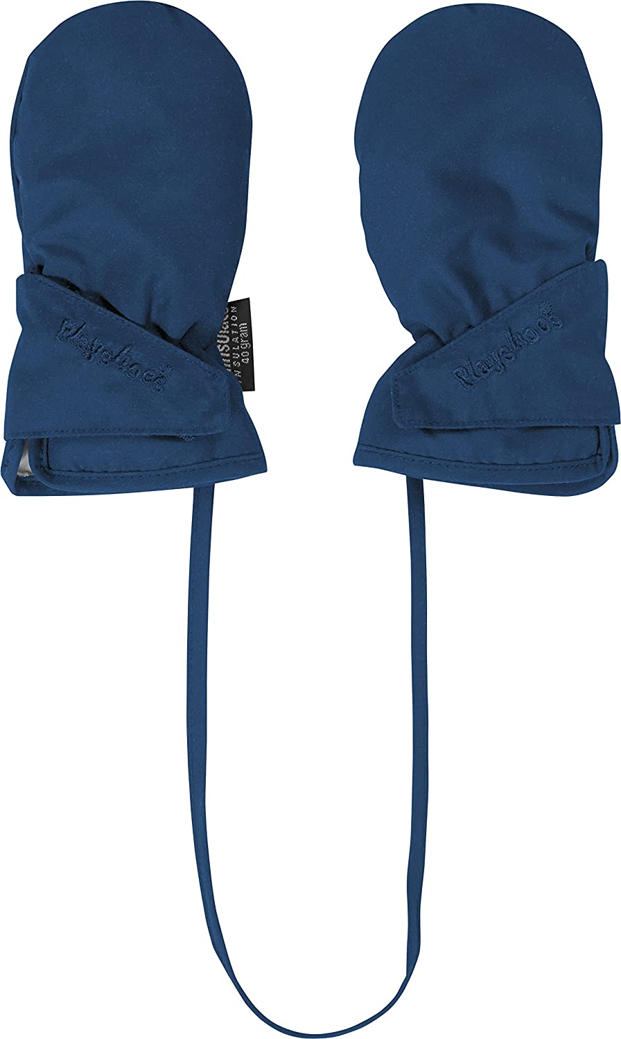 Playshoes Unisex Baby Winter Thinsulate Insulation 3m Fleece Lining Mittens Blue One Size 422030