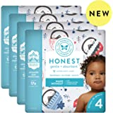 The Honest Company The honest company baby diapers with trueabsorb technology, happy together, size 4, 92 count, Winter Wonder, Size 4, 92 Count