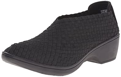 Skechers Women's Flexibles-Weaver Ankle Boot,Black,5 ...