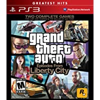Grand Theft Auto Episodes From Liberty City- PlayStation 3 Standard Edition