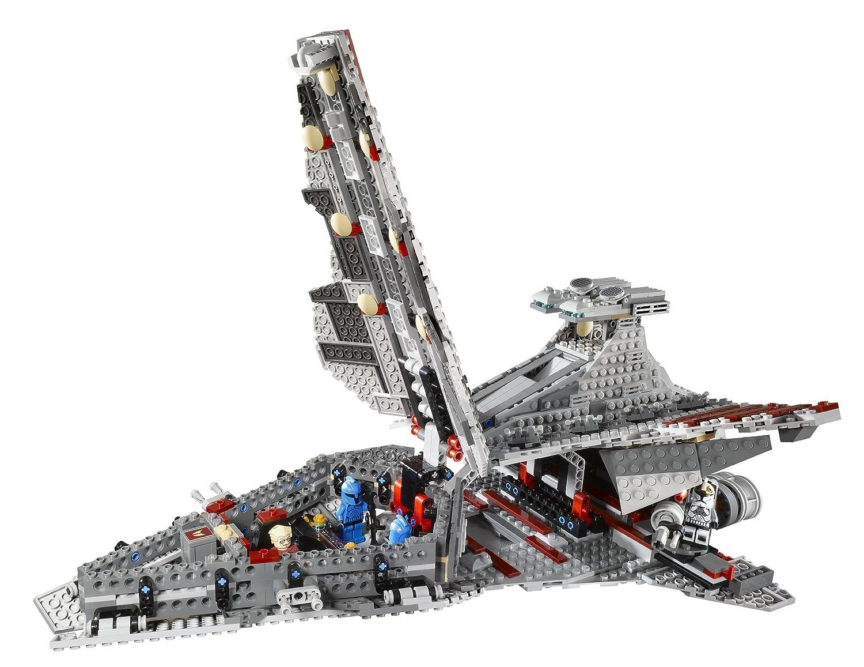 lego 8039 jeu de construction star wars clone wars venator class republic attack cruiser amazonfr jeux et jouets