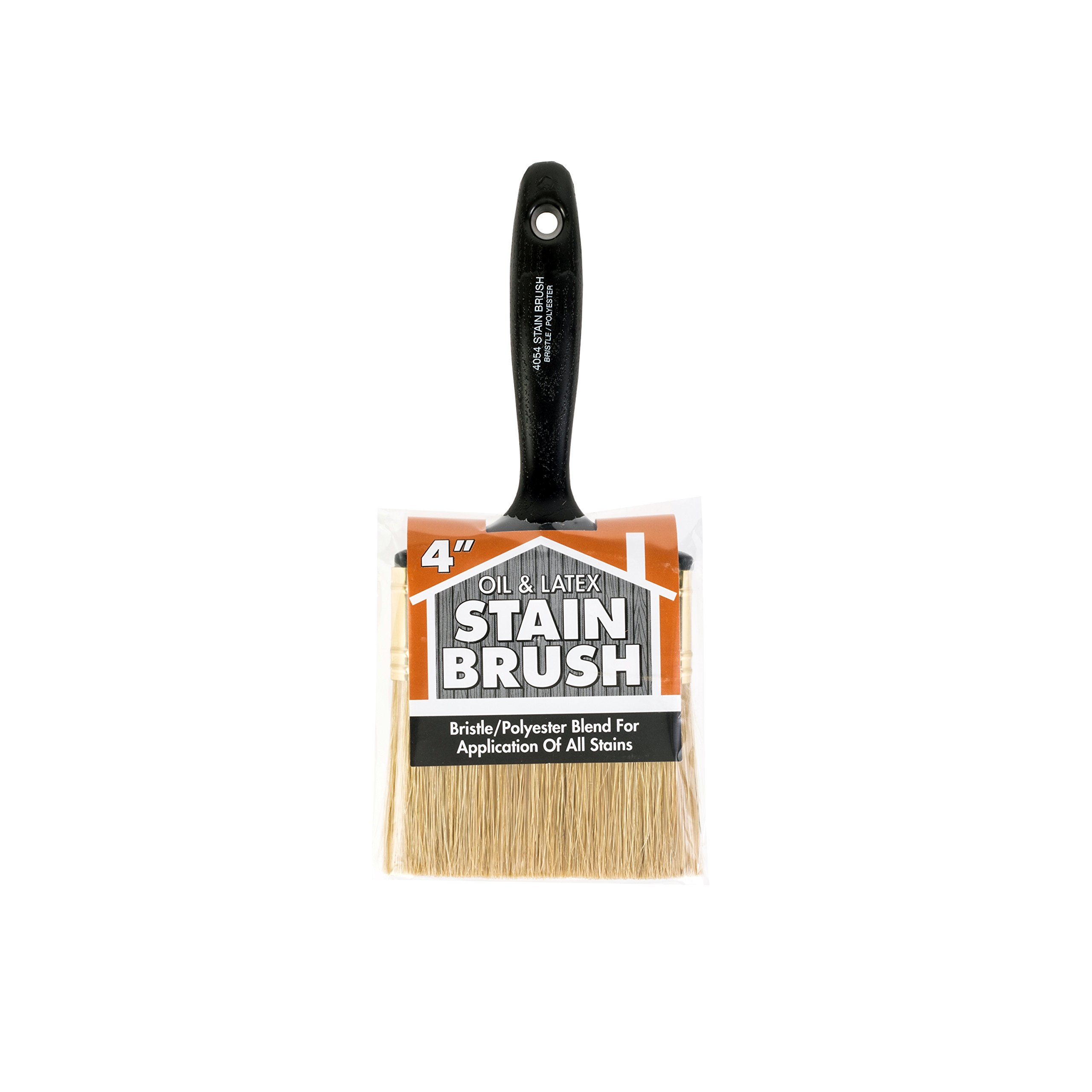 Wooster Brush Company 4054 2 Oil and Latex Stain Brush, 4-Inch by Wooster Brush