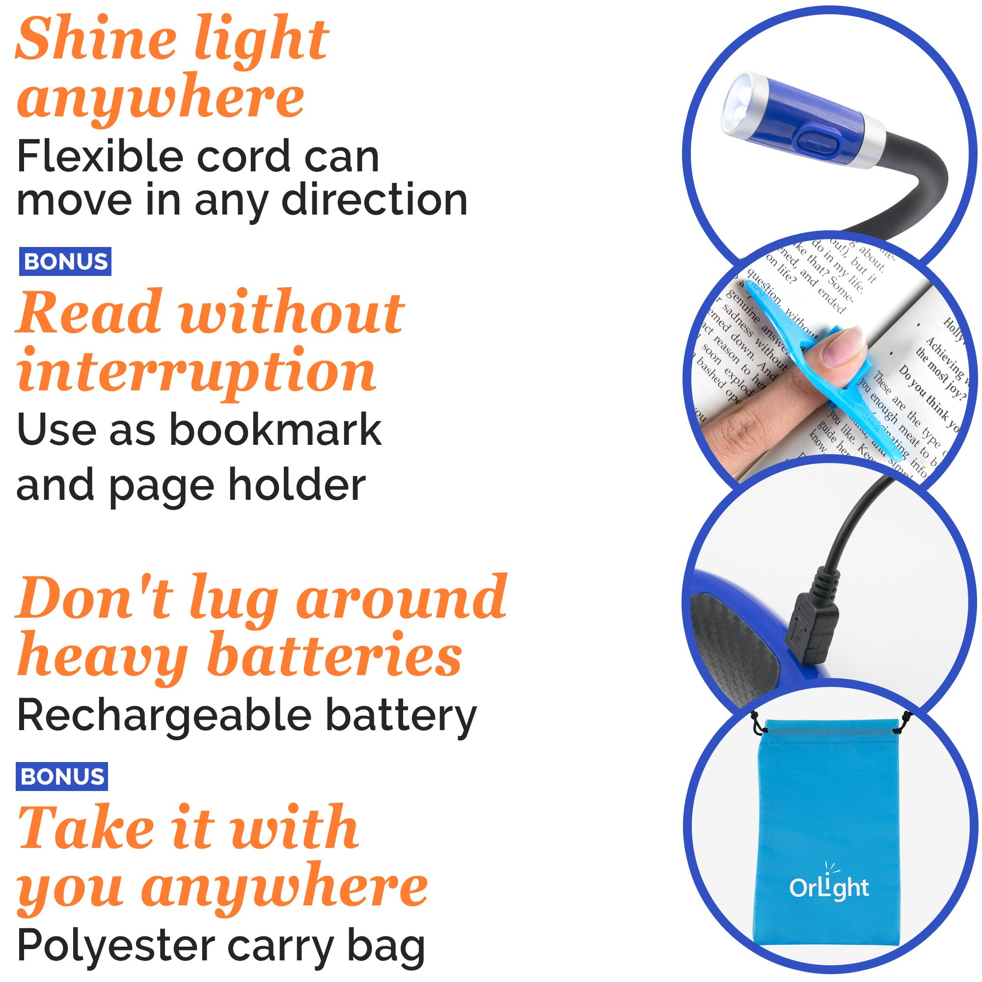 hug light pro led neck light rechargeable book light for reading
