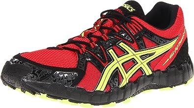 R elegante inalámbrico  Amazon.com | ASICS Men's GEL-Fujitrainer 2 Running Shoe, Red/Neon  Yellow/Black, 15 M US | Road Running