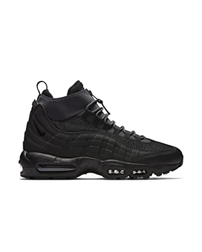 save off 9a535 f86b7 Nike Air Max 95 Sneakerboot, Chaussures de Randonnée Hautes Homme, Noir  Black Anthracite