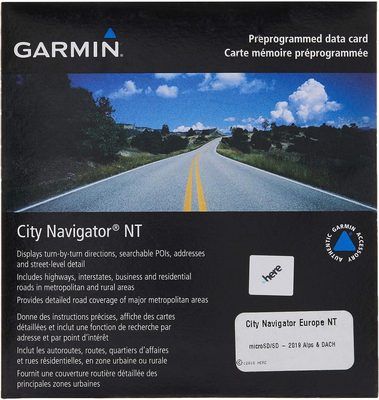 Garmin City Navigator 32  Germany/Austria/Switzerland/Liechtenstein/Northern Italy/Eastern France Map  microSD Card