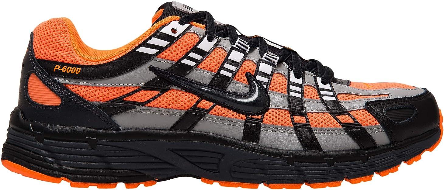 Nike P 6000 CD6404 800 Baskets pour Homme OrangeNoir