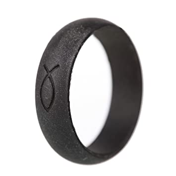womens silicone wedding rings by mada rings female bands for athletic outdoor or - Sports Wedding Rings