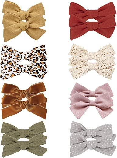 Bows Barrettes Flower Alligator Clip Hair Accessories for Little Girls Toddler Kids Children Baby Girl Hair Clips