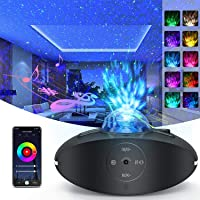 Galaxy Projector 4 in 1 Smart Star Projector Sky Lite with Alexa,Google Assistant for Baby Kids Bedroom/Game Rooms/Home…