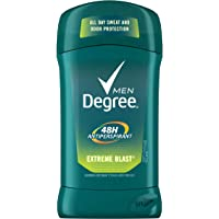 6-Pack Degree Men Dry Protection Antiperspirant Deodorant Extreme Blast 2.7 oz