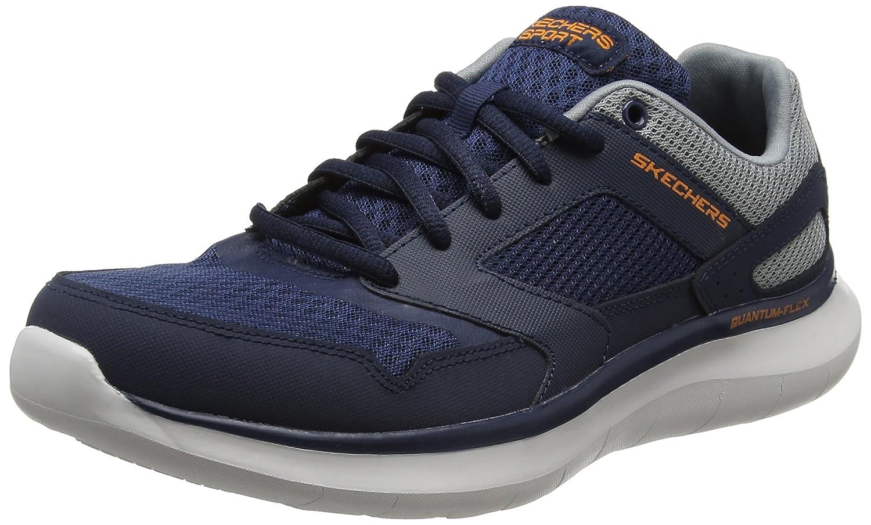 Skechers Quantum Flex-Hudzick, Zapatillas de Entrenamiento para Hombre 40 EU|Azul (Navy/Gray)