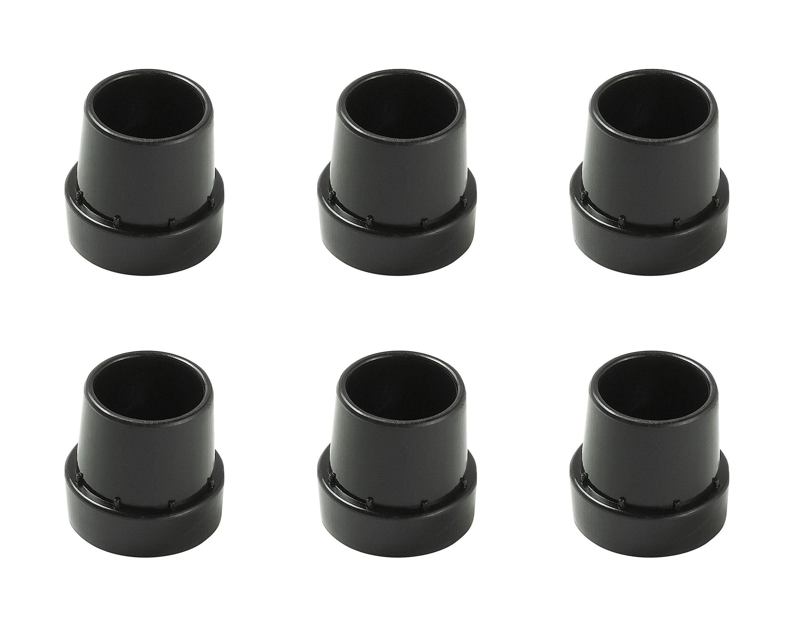 Upper Bounce Replacement Rubber Cap Tips for Mini Trampoline Legs (Set of 6) by Upper Bounce