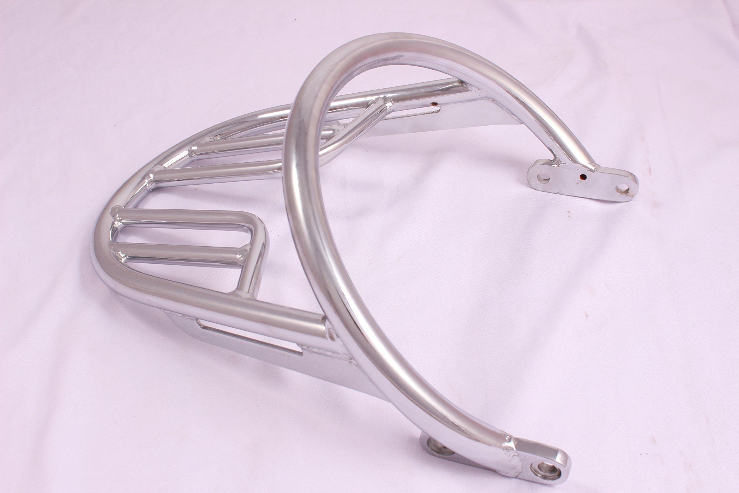E67 Chrome Grab Rail Luggage Rack Kit For Triumph Bonneville T100 Bonneville T120