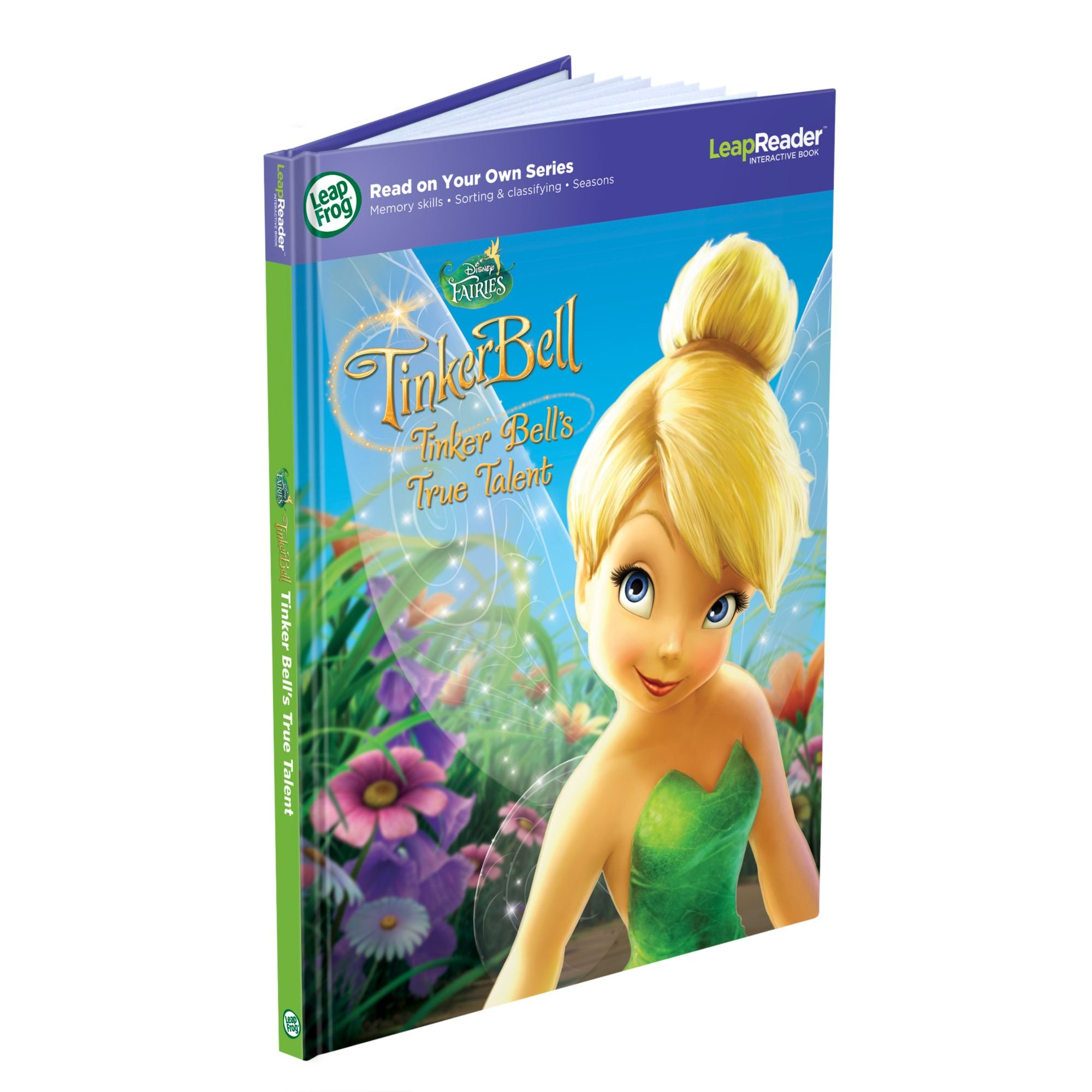 LeapFrog LeapReader Book: Disney Fairies Tinker Bell's True Talent (works with Tag) by LeapFrog