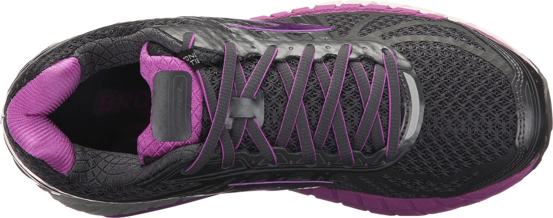 Brooks Women's Ariel '16 Anthracite/Purple Cactus Flower/Primer Grey 7 B US by Brooks (Image #2)