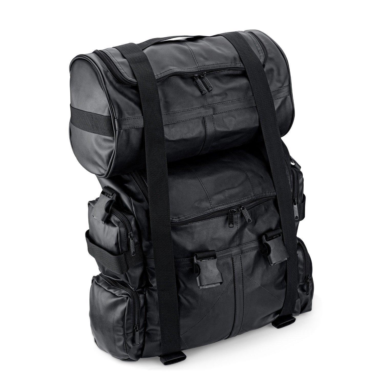 Viking Aero Expandable Universal Fit Motorcycle Sissy Bar Bag