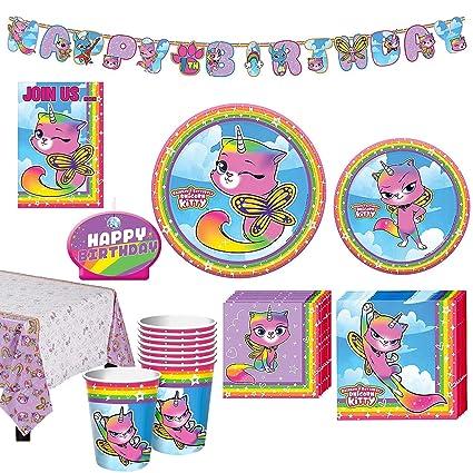 Amazon.com: Paquete de cumpleaños para 8 invitados con ...