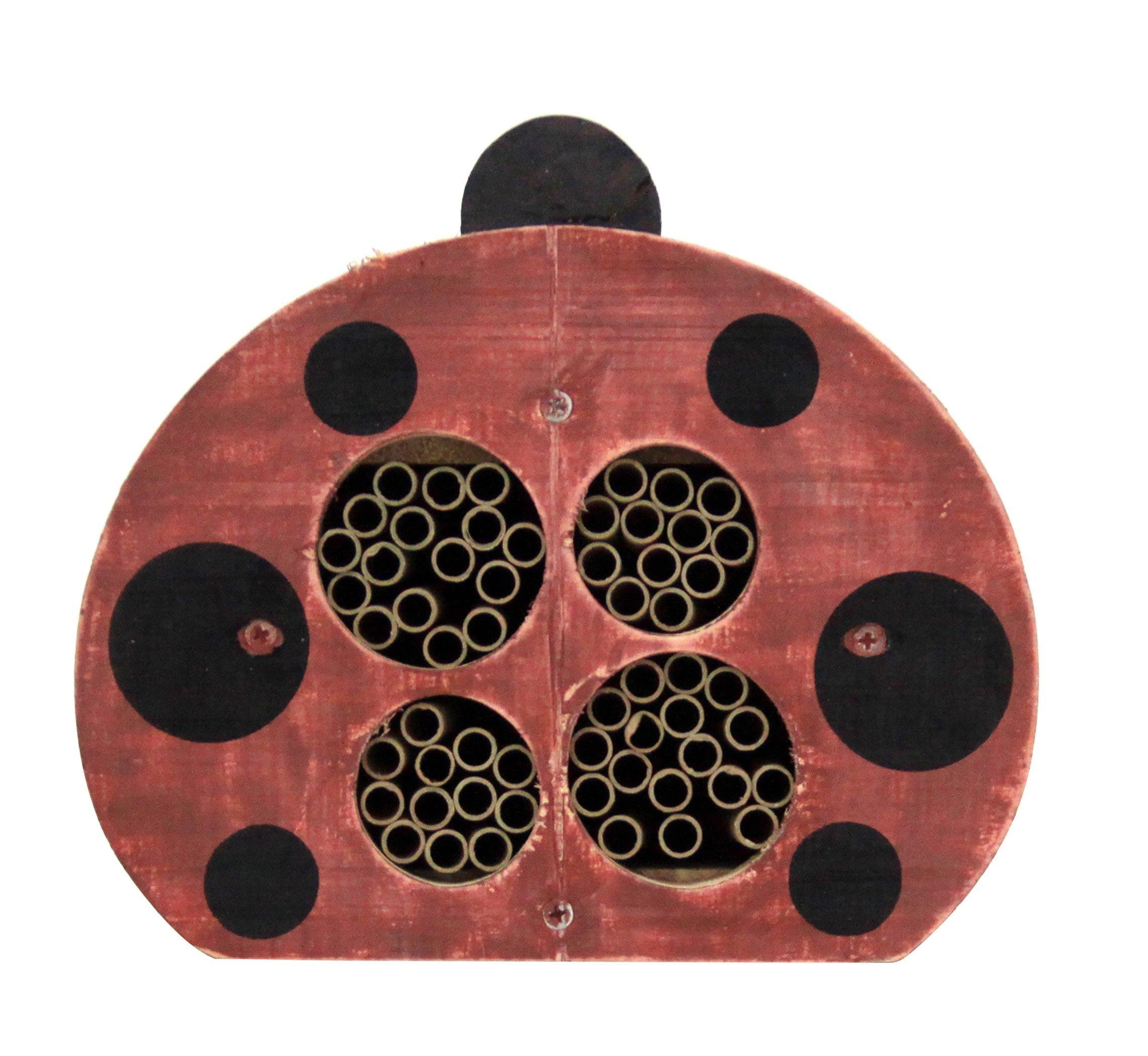 Welliver Outdoors Solitary Bee House, Ladybug