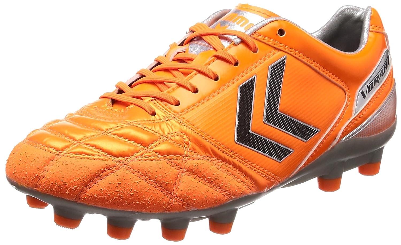 [ヒュンメル] サッカースパイク ヴォラートKS SW メンズ B07DLWF4LH 25.5 cm|オレンジ×シルバー(3595) オレンジ×シルバー(3595) 25.5 cm