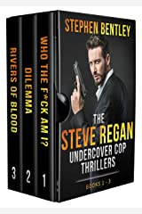 The Steve Regan Undercover Cop Thrillers Trilogy: The Original Books 1 - 3 Box Set Kindle Edition