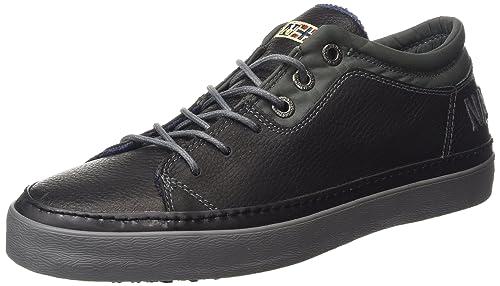 Napapijri Zapatos Jakob Zapatilla y complementos Hombre 45 Talla de es Color Cuero Deportiva Negro Amazon RRqwrd7T