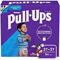 Pull-Ups Learning Designs Boys' Training Pants, 2T-3T, 94 Ct