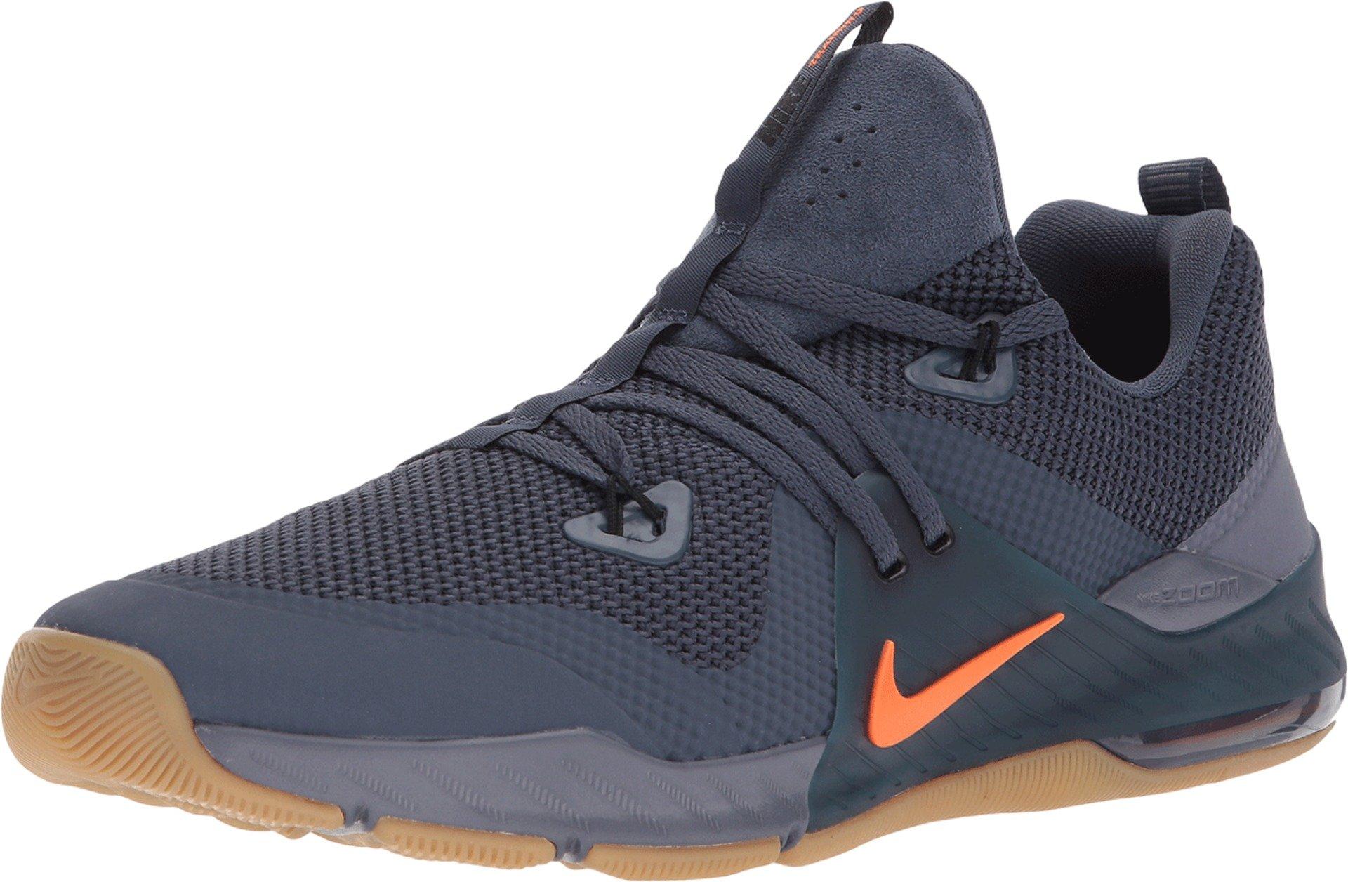 hot sale online 543bf 0b759 Galleon - NIKE Men s Zoom Command Training Shoes (9.5, Blue Orange-M)