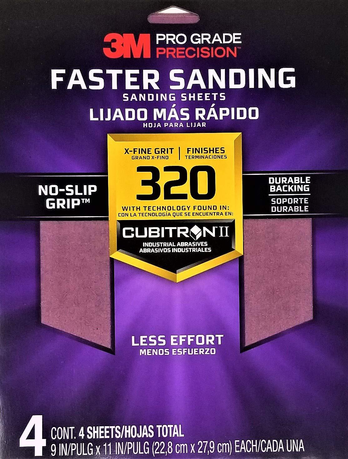Sandpaper Pro 320g 4pk