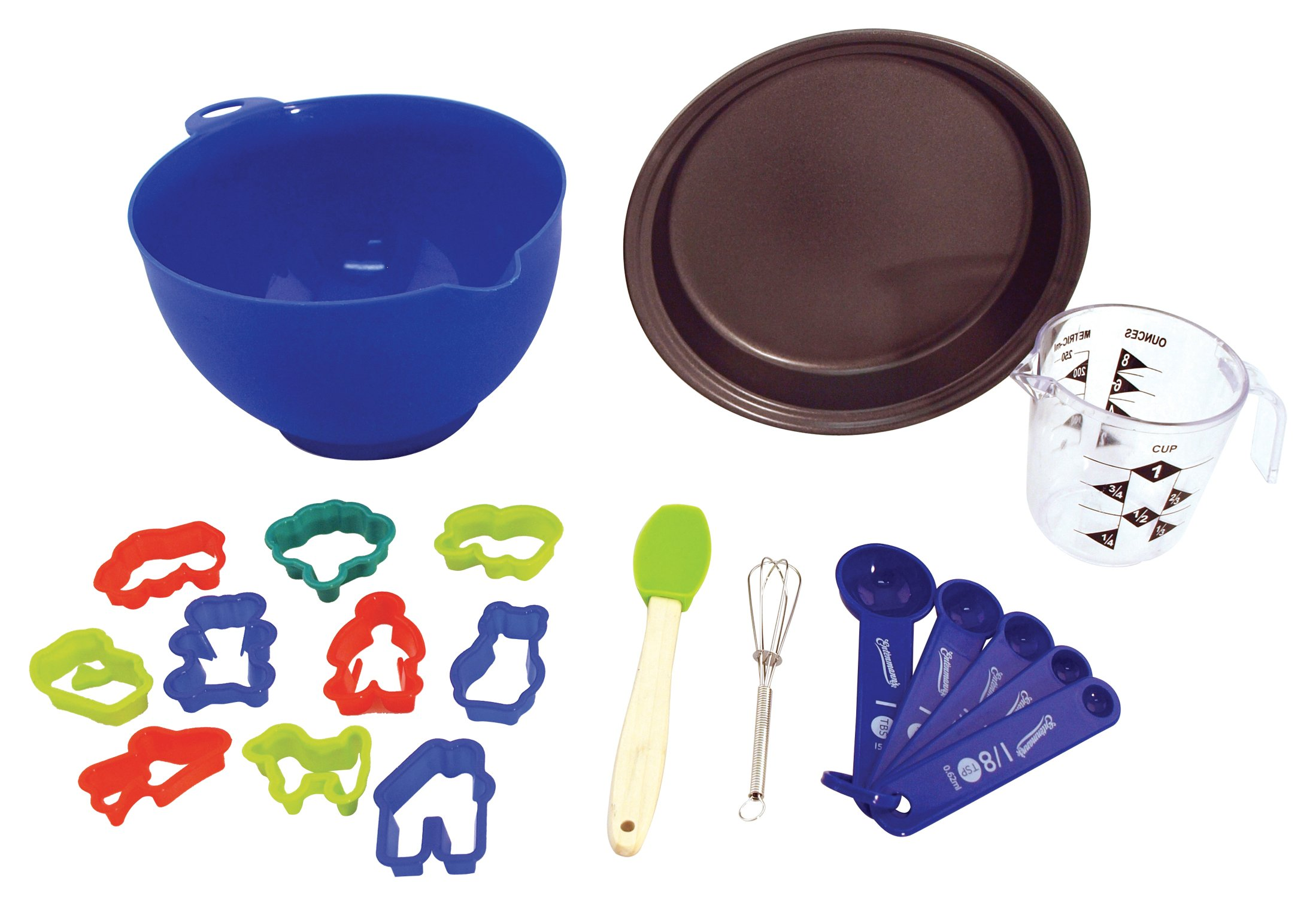 Entemann's ENT39013 16-Piece Kids Baking Set