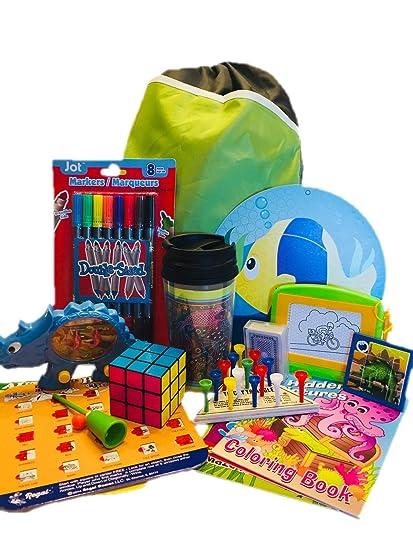 Amazon.com: Kit de bolsa de actividad para niños – Mantén a ...