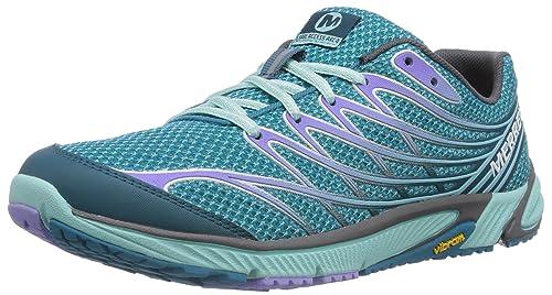 Merrell Bare Access ARC 4 - Zapatillas de Correr en montaña para Mujer, Color türkis (Algiers/Pilot Purple), Talla 36: Amazon.es: Zapatos y complementos