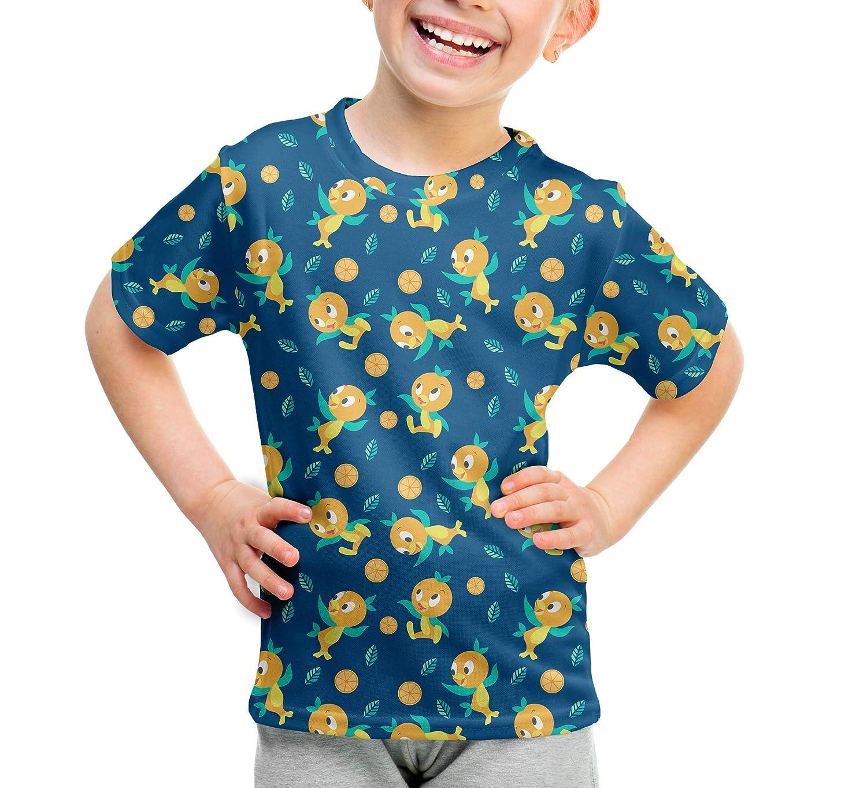 Orange Bird Disney Parks Inspired Kids Cotton Blend T-Shirt Unisex