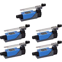 POFET 5 stks ME-8108 Verstelbare Roller Hendel Arm arduino Limit Switch NC-NO CNC Mill Router