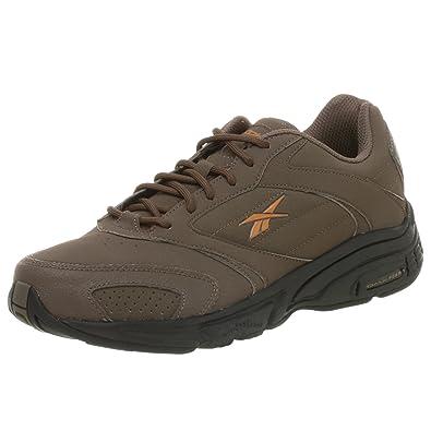 3957bb57af Reebok Men's Walk Steady RG Walking Shoe, Brown, 10 M: Buy Online at ...