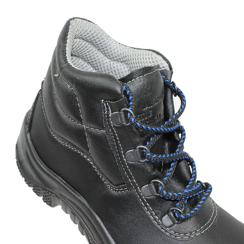 Jal Group - Chaussures De Protection En Cuir Noir Homme Noir bas prix vente chaude sortie Footaction rabais avec paypal dernières collections vvzEA